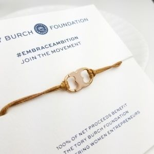 Tory Burch Embrace Ambition Enamel Bracelet